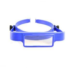 Blue Headband Magnifier