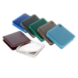 Plastic square folding pocket magnifier - Ex demo