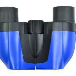 Small Blue reverse porro prism binocular