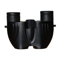 Small reverse porro prism binocular in black