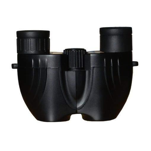 Small reverse porro prism binocular in black